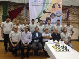 قهرمانی شطرنج دانش آموزان متوسطه اول - رامسر 98
