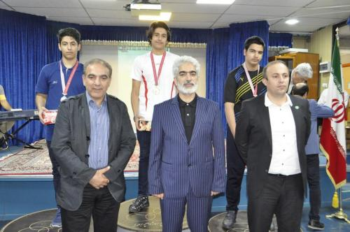 اختتامیه مسابقات شطرنج قهرمانی دانش آموزان کشور - مقطع متوسطه اول - زنجان 97